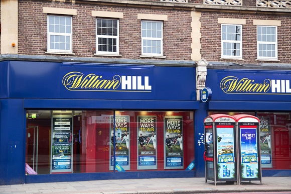 31421396 - london - september 5th: the exterior of a william hill betting shop on september the 5th, 2014, in london, england, uk. william hill is the uk's leading bookmakers.