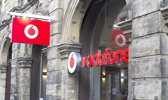51281620 - logo of vodafone - vodafone is a british multinational telecommunications company and it is the one of the world's largest to mobile telecommunications company.