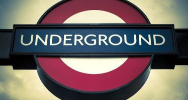 45849242 - london - april 10: transport for london using the underground logo by transportation systems in london on april 10, 2015 in london.