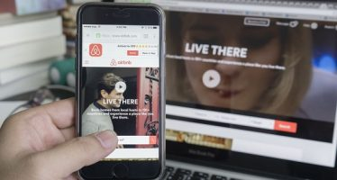 62799703 - tokyo, japan - june 5, 2016: apple iphone 6s with airbnb website on the screen.airbnb is a website for people to list, find,and rent lodging.airbnb an online platform for accommodation