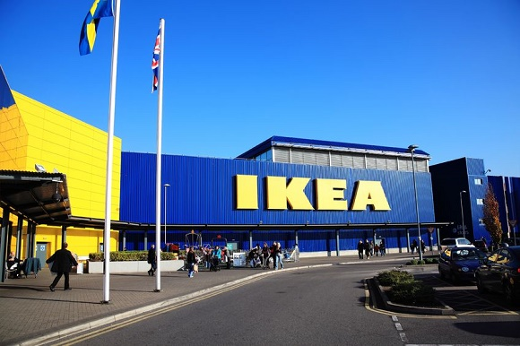 12257815 - london, uk – november 19, 2011:  ikea furniture retail store in brent park wembley