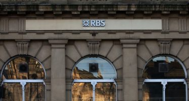 12143453 - sheffield - janruary 12: the uk government owns 83 per cent of rbs but remains a public company run by an independent board of directors and subsequently bonuses are governed by it's own private board members. sheffield, england, janurary 26 2012.