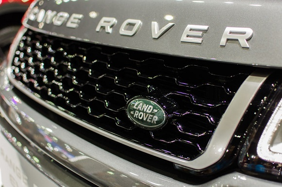 50728972 - bangkok, thailand -  december 12, 2015 : land rover sign close up. founded in 1948 is a brand of the british car manufacturer jaguar land rover, which specializes in four-wheel-drive vehicles.