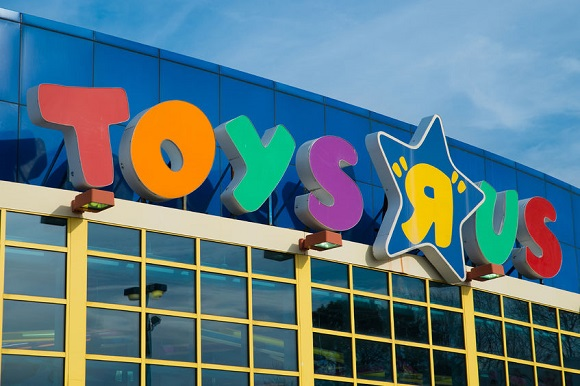 27694069 - kennesaw, ga - march 21, 2014  sign at toys r us location in kennesaw, ga, on march 21, 2014  the retailer announced cuts of 200 jobs at corporate headquarters and plans to close stores nationally