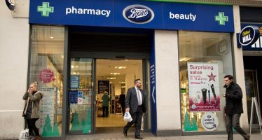 34133107 - london - november 25th: the exterior of boots on november the 25th, 2014, in london, england, uk. boots is the uk's leading pharmaceutical company.
