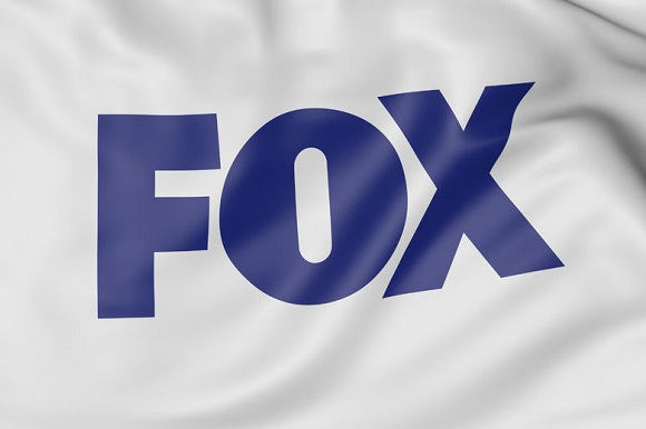 63616212 - close up of waving flag with fox logo, united states