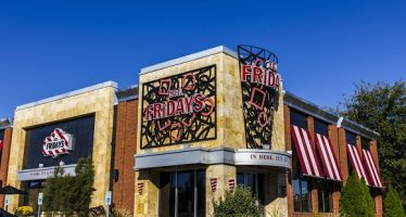 63614245 - indianapolis - circa october 2016: tgi friday's restaurant location. tgi fridays offers great food and amazing drinks ii
