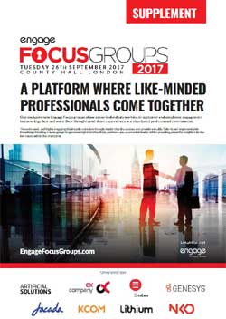 2017 Engage Focus Groups Supplement