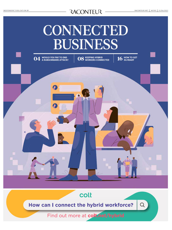 <span>Connected Business 2021 in The Times</span> - Free Download